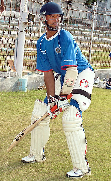 Pujara's grandfather, father and uncle were all talented cricketers