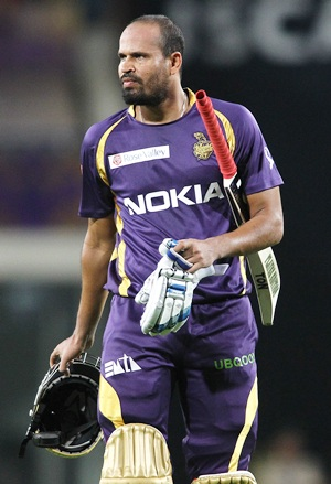 Rediff Cricket - Indian cricket - Yusuf Pathan first IPL batsman out obstructing the field