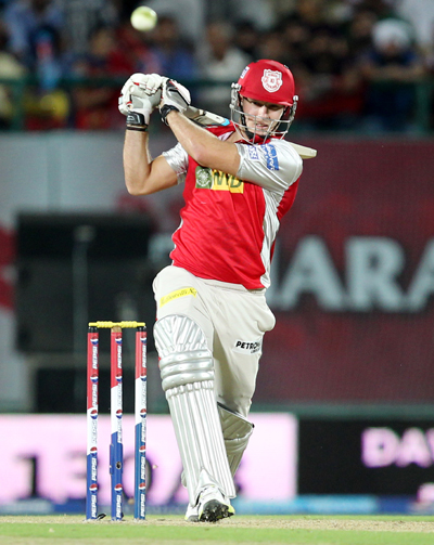 Rediff Cricket - Indian cricket - IPL: Punjab beat Delhi to keep alive slim hopes