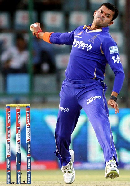 Self-destructing Sreesanth finally gets it right!
