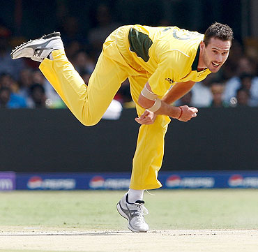 Rediff Cricket - Indian cricket - Tait 'deeply distressed' by links to IPL spot-fixing