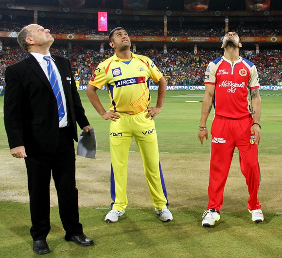 Rediff Cricket - Indian cricket - IPL PHOTOS: Royal Challengers Bangalore vs Chennai