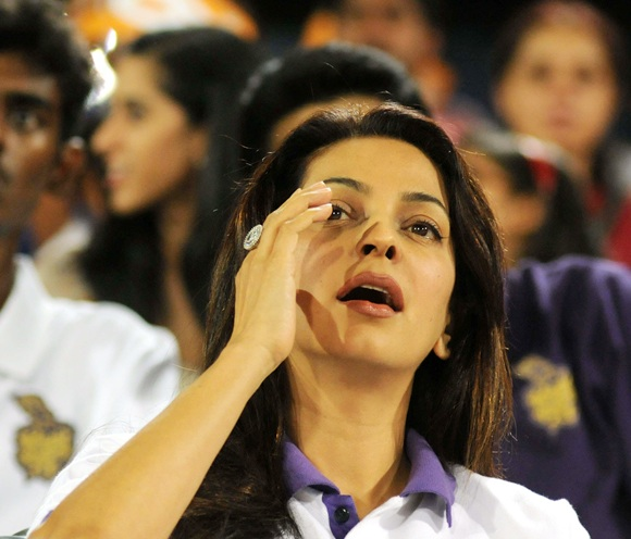 Rediff Cricket - Indian cricket - IPL PHOTOS: Hyderabad Sunrisers vs Kolkata Knight Riders
