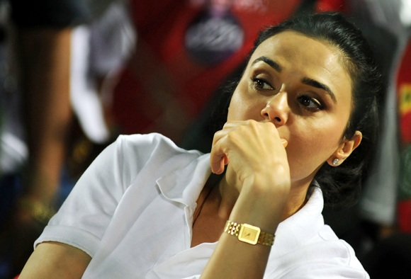 Glamour queen of IPL 6: Preity Zinta