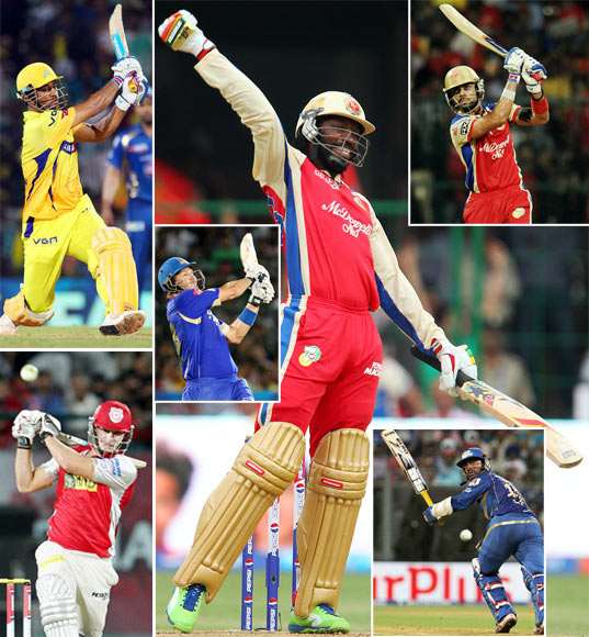 Rediff Cricket - Indian cricket - The ten best knocks of IPL 6