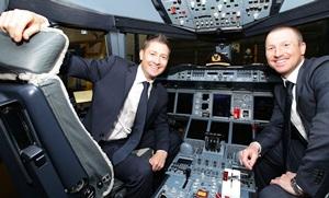 Austalian captain Michael Clarke (left) and vice-captain Brad Haddin