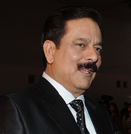 Sahara Group chief Subrata Roy