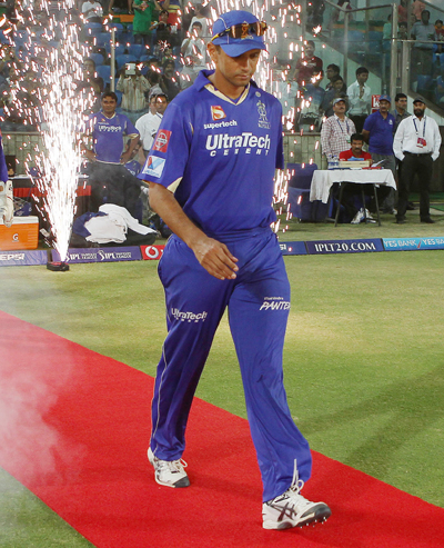 Rediff Cricket - Indian cricket - CLT20, I think that would be it, says Dravid on his future