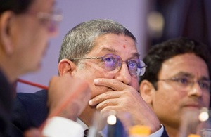 Rediff Cricket - Indian cricket - Will act against Gurunath with alacrity: Srinivasan