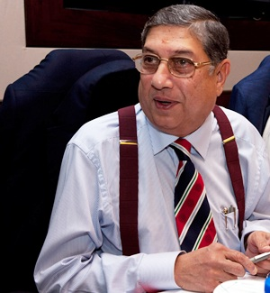 Rediff Cricket - Indian cricket - Politicians demand resignation of BCCI supremo Srinivasan