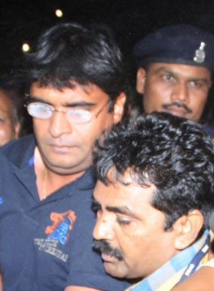 Mumbai Police search Gurunath's residence