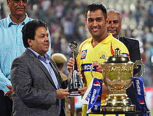 And the IPL Fair Play Award goes to... Chennai Super Kings!