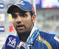 IPL final: Rohit Sharma fined for slow over-rate