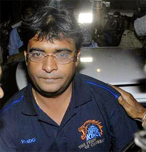 Mumbai court extends Meiyappan's police remand till May 31
