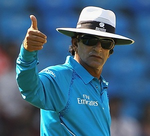Umpire Rauf claims innocence in IPL spot-fixing scandal
