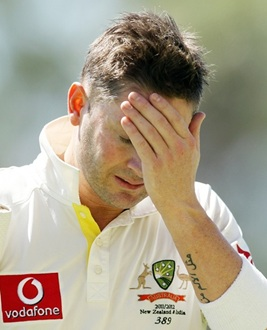 Clarke reprimanded for dissent in Sheffield Shield