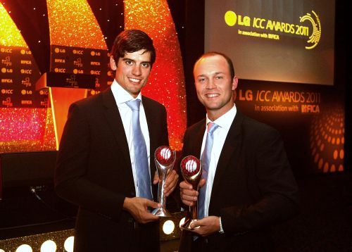 Alastair Cook and Jonathan Trott