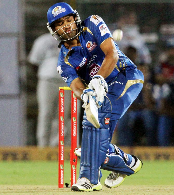 Rohit's first and only IPL hundred was also at Eden Gardens