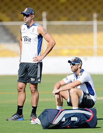 Kevin Pietersen and Matt Prior