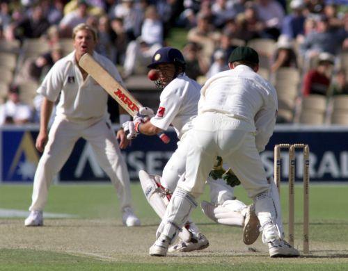 Sachin Tendulkar and Shane Warne