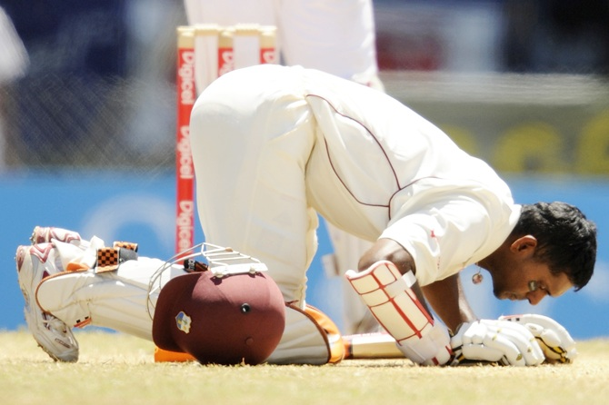 West Indies salute their legend... Shivnarine Chanderpaul