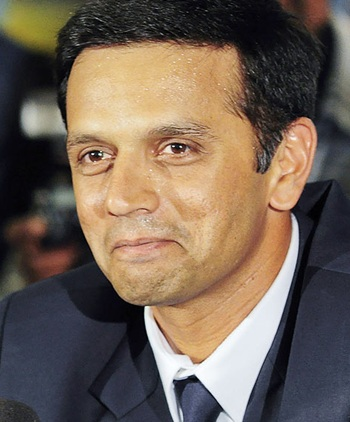Rahul Dravid in favour of legalising betting
