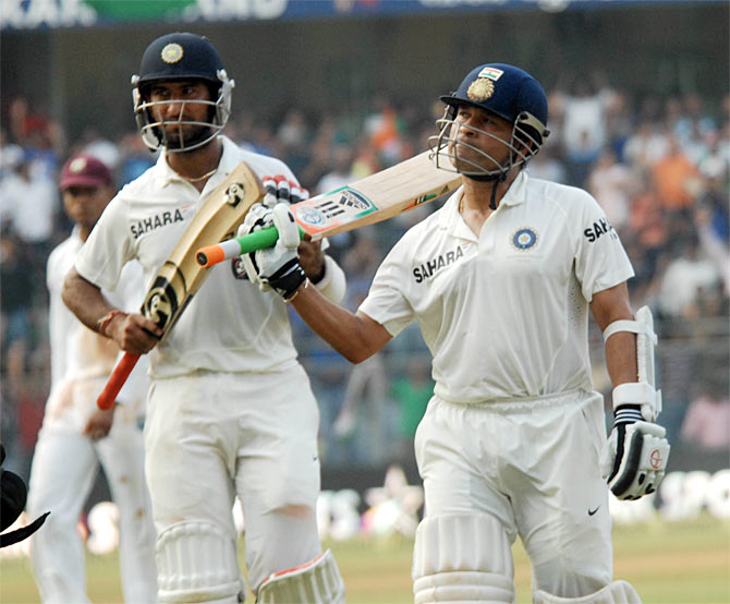 Tendulkar helped me stay focused: Pujara
