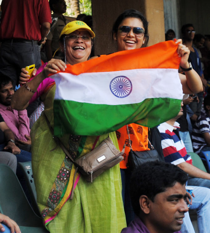 PHOTOS: Sachin fanfare at the Wankhede