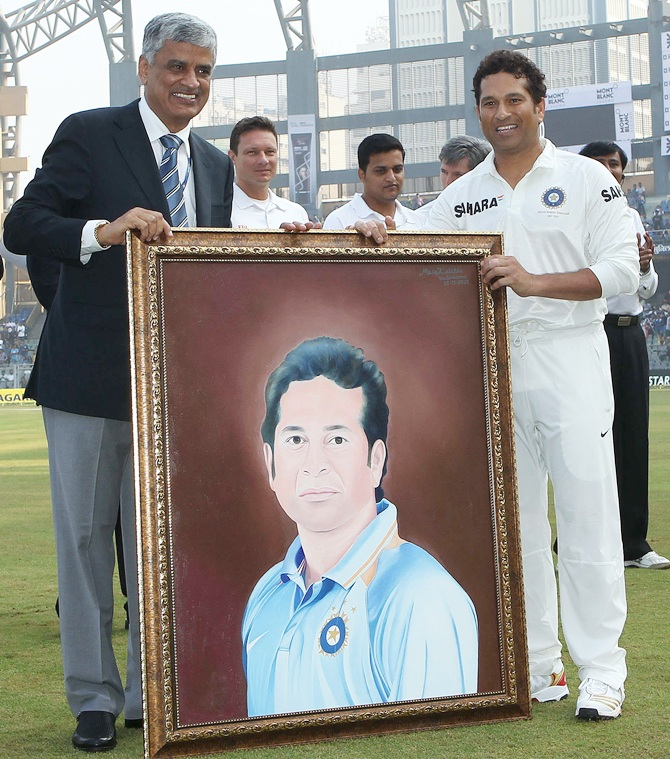 First look: Sachin Tendulkar at Wankhede... one last time