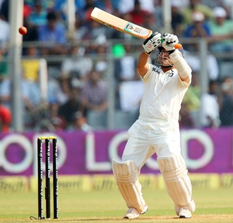 Tendulkar falls short of farewell ton as India take total control