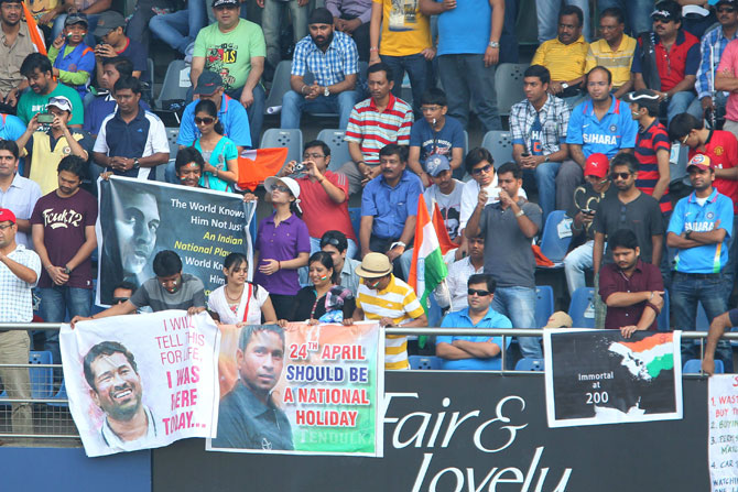 The passion of Indian fans needs to be applauded