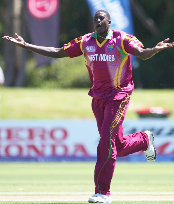 Jason Holder of the West Indies
