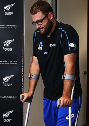Former skipper Vettori out of NZ series with West Indies