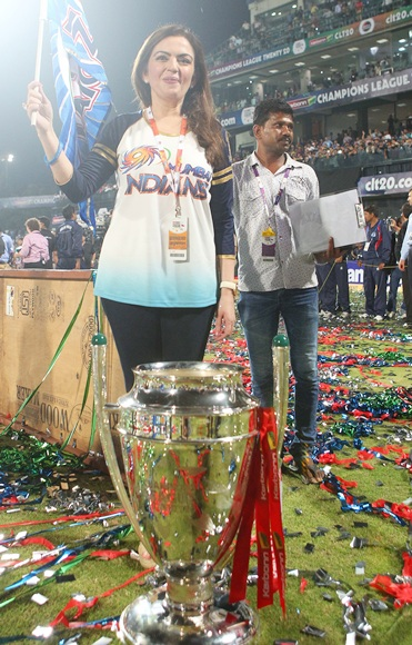 Team owner Neeta Ambani