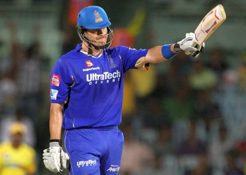 'Watson in line to succeed Dravid as Royals' captain'