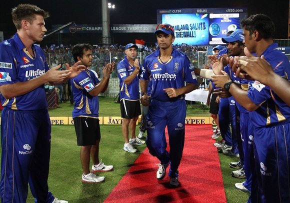 'He (Dravid) was playing his last game, but he put the team ahead of himself'