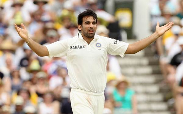 After the 2011 World Cup, Zaheer Khan has played just seven Tests