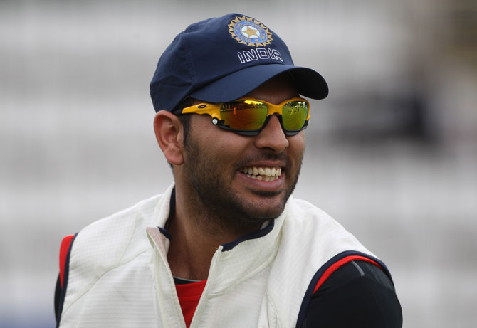 'Yuvraj's experience will definitely help the team'
