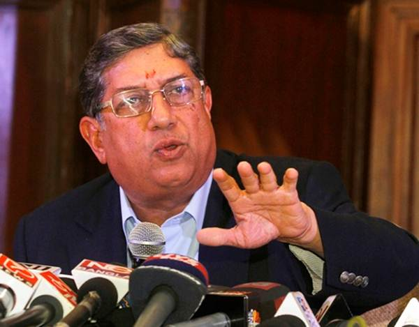 Srini says conscience allowed him to continue as BCCI chief