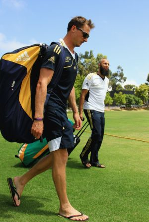Dale Steyn and Hashim Amla
