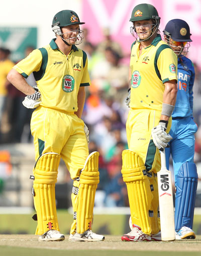 George Bailey and Shane Watson