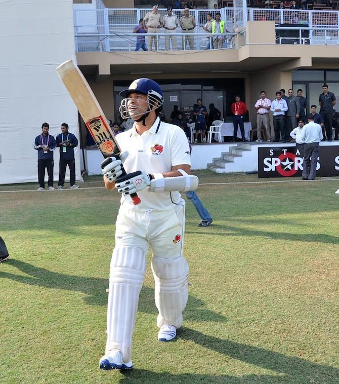 Key moments in Tendulkar's Ranji Trophy career
