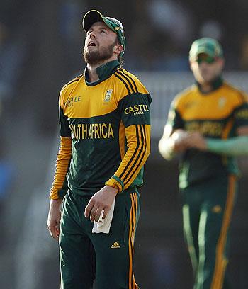 South Africa's captain AB de Villiers