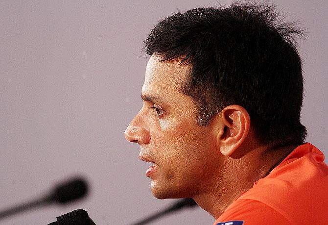 Rajasthan Royals captain Rahul Dravid