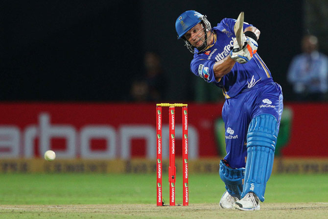 Brad Hodge of Rajasthan Royals