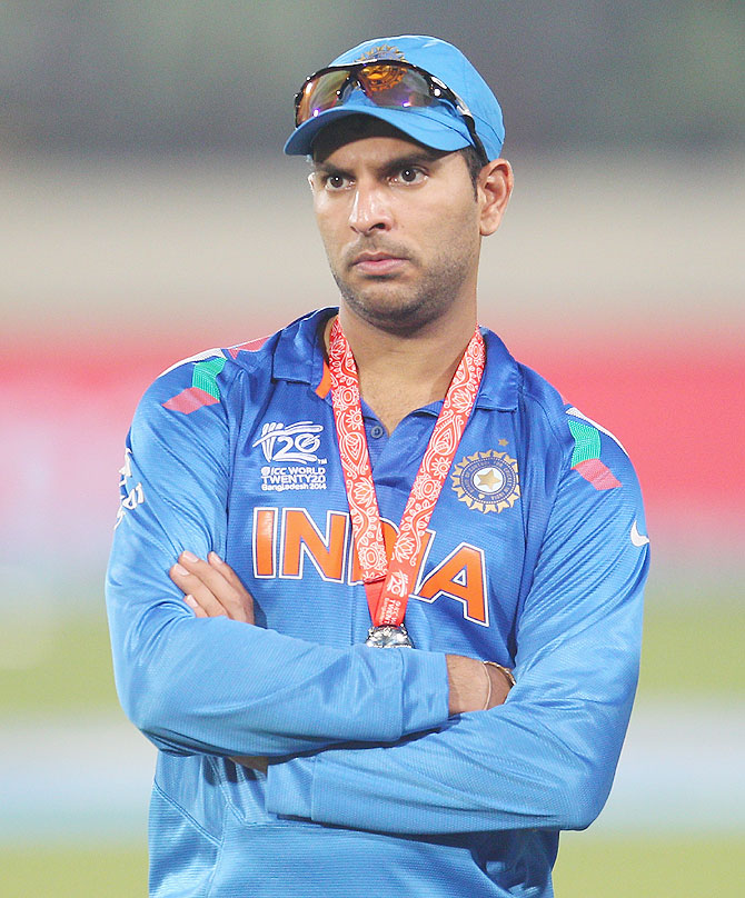 WT20 snapshots: 'Yuvraj should not be singled out for India's loss'