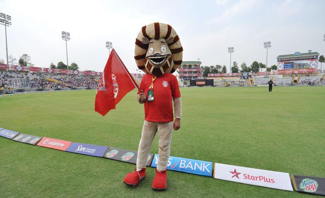 Kings XI Punjab mascot Rocky