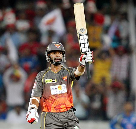Sunrisers Hyderabad captain Shikhar Dhawan