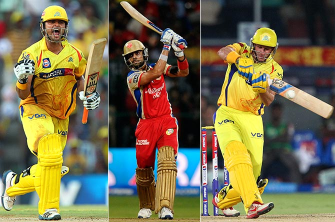 Who scored the most runs in the sixth edition of IPL 2013?