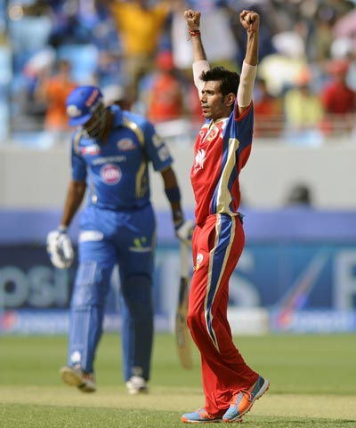 IPL: Bowlers set up Bangalore's easy win over Mumbai